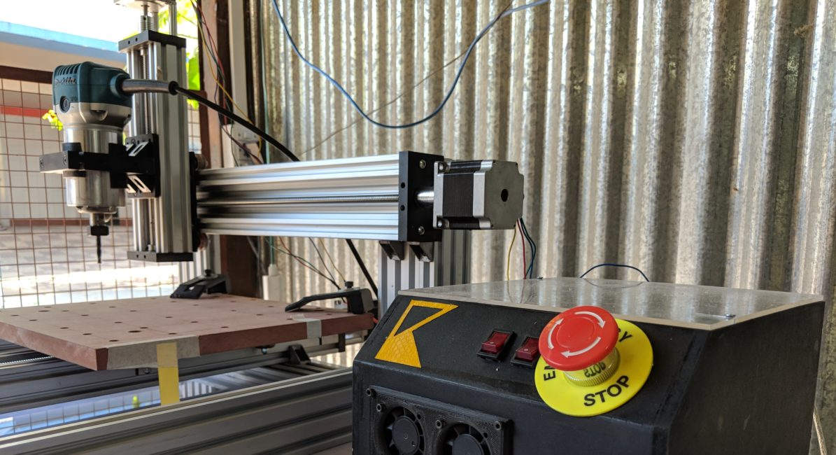 CNC Machine at Maker Space Pune