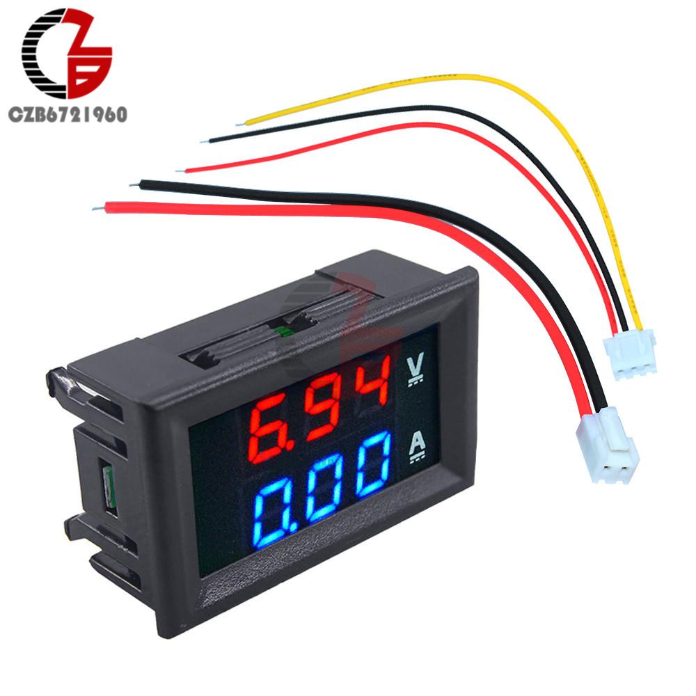 Volt Meter Wiring Likewise A 4 Wire Digital Voltmeter Wiring Diagram
